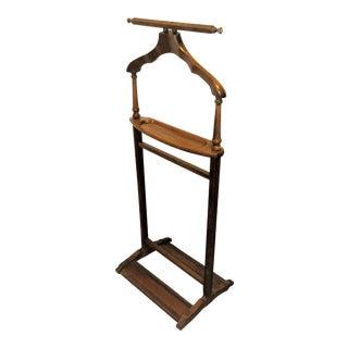 Vintage Wooden Butler Stand