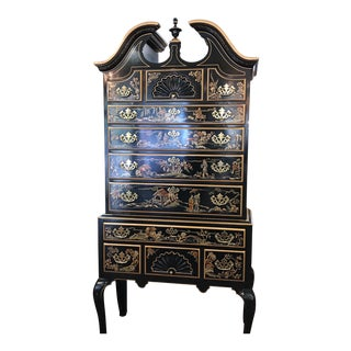 Drexel Heritage Chinoiserie Highboy