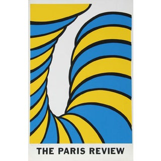 "1965 Nicholas Krushenick ""Paris Review"" Print"