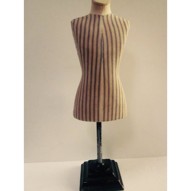 Antique French Miniature Dress Form Mannequin - Image 6 of 11