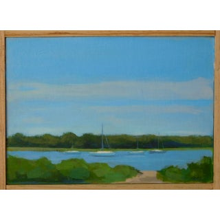 "Anne Carrozza Remick ""Harbor"" Painting"