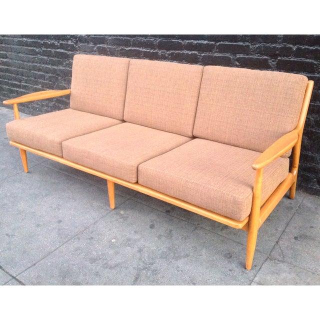 Conant Ball Mid-Century Pink Sofa - Image 4 of 8