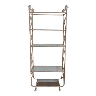 Vintage Arthur Court Etagere Display Shelf