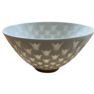 Swedish White Porcelain Bowl