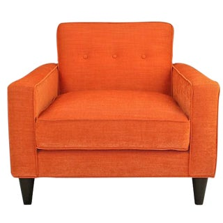 Mid-Century Modern Bowie Club Chair