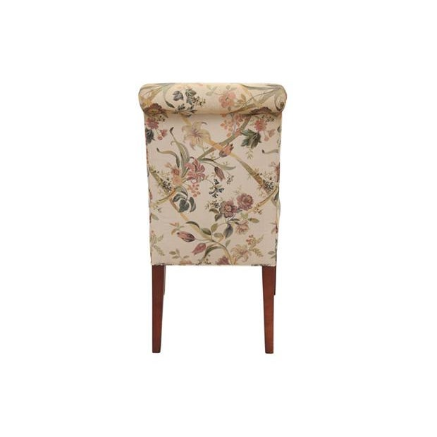 Floral Dining Chairs, S/6 - Image 5 of 6