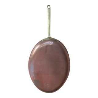 Copper & Brass Oval Skillet