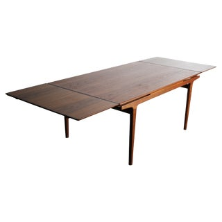 Arne Vodder Teak Danish Modern Extension Table