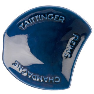 Blue Taittinger Ashtray