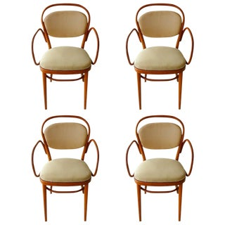 Michael Thonet Bentwood Dining Chairs - Set of 4