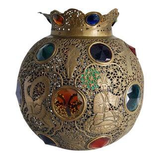 Moroccan Brass Lamp Shade