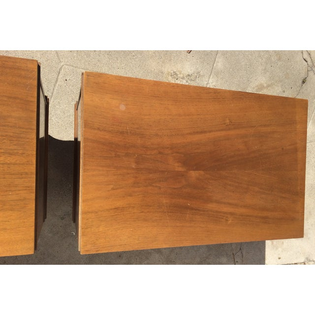 American Martinsville Mid-Century Side Tables Pair - Image 10 of 11