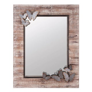 Embellished Butterfly Mirror