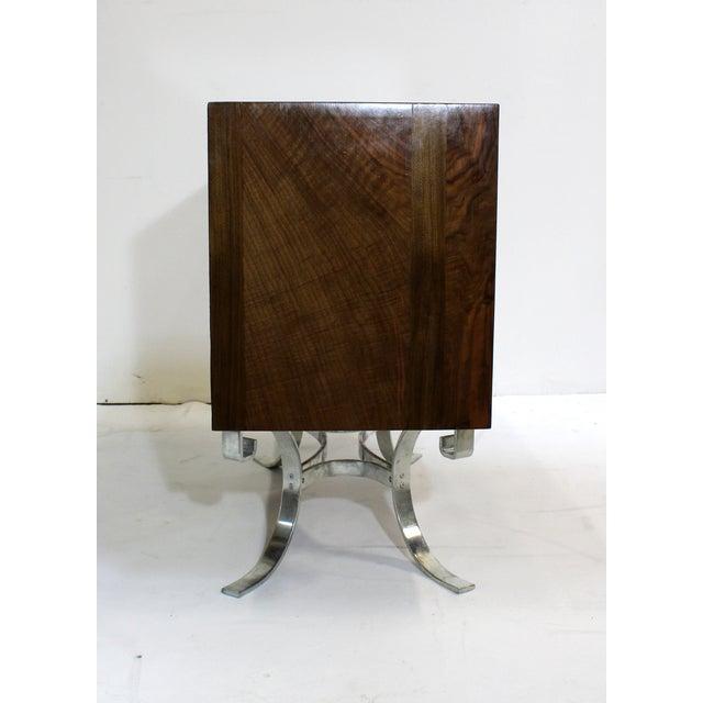 Mid-Century Italian Walnut Cabinets - A Pair - Image 8 of 9