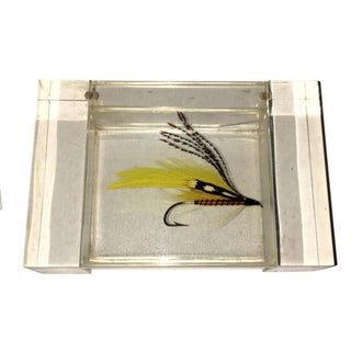 Lucite Fishing Lure Box