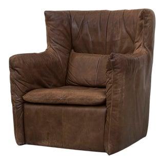 Gerard van Den Berg Leather Lounge Chair