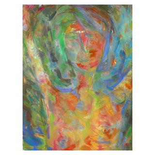 """""""That Girl"""" Abstract Painting by Trixie Pitts"""