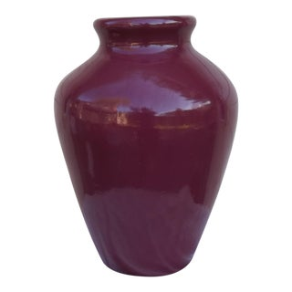 Robinson Ransbottom Pottery Vase /Oil Jar Massive
