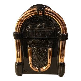Black & Gold Jukebox Cookie Jar