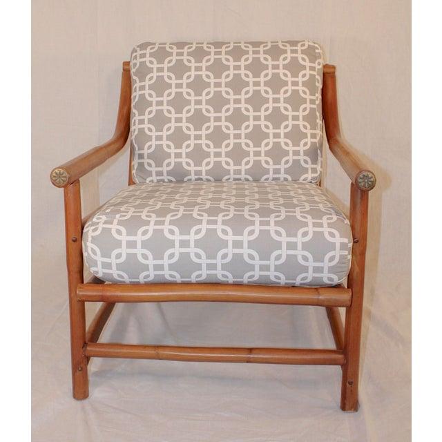 Ritts Tropitan Bamboo Lounge Chair - Image 2 of 6