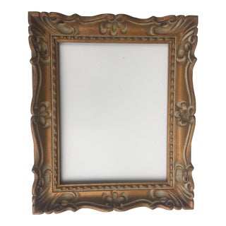 French Style Carved Picture Frame