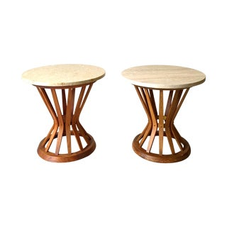 Edward Wormley for Dunbar Wheat Tables - Pair