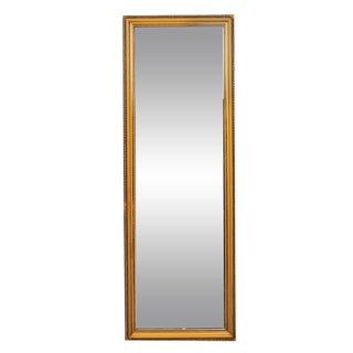 Vintage Tall Gold Dressing Mirror