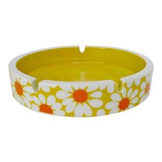 Flower Power Porcelain Ashtray