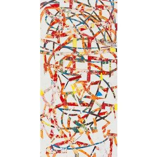 Confetti, 2017, Oil on wood by Mary Didoardo.