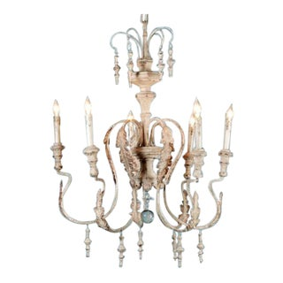 French Acanthus Leaf Chandelier