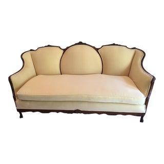 Antique Victorian Carved Sofa