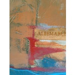 Image of Abstract Painting with Bayeaux Tapestry Image