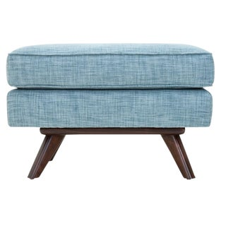 Clad Home Mid-Century Style Tufted Ottoman