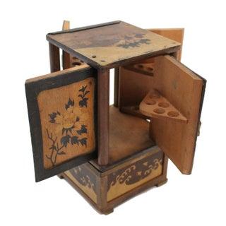 Vintage Japanese Cigarette Cabinet Box