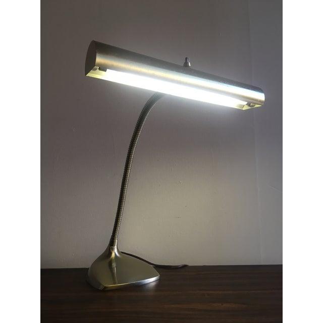 Mid-Century Brass Desk Lamp - Image 8 of 9