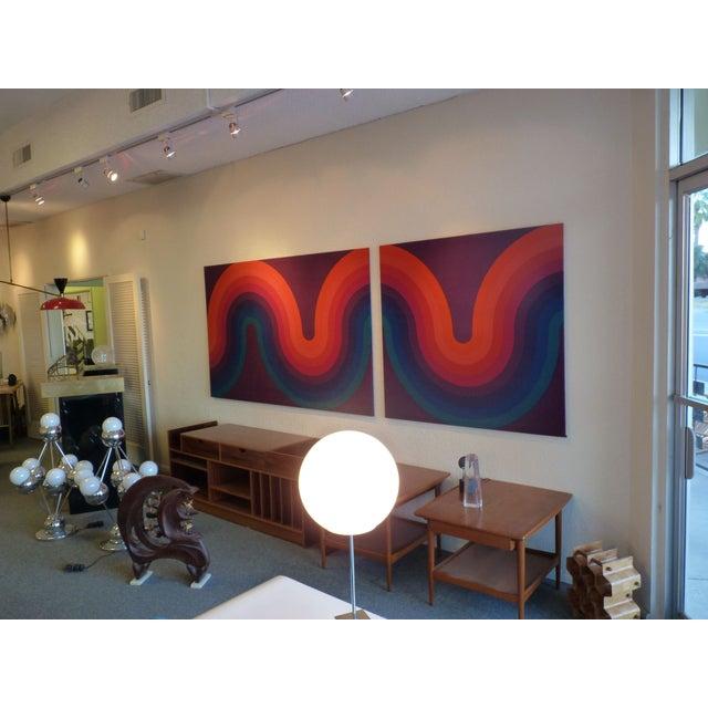 Verner Panton Large Panels - Pair - Image 2 of 6
