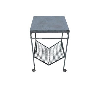 Salterini Marble & Mesh Accent Table