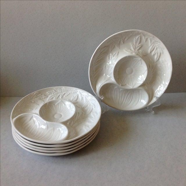 California Pottery Artichoke Plates - Set of 6 - Image 3 of 10