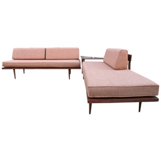 Mid-Century Modern Sectional Couch Set