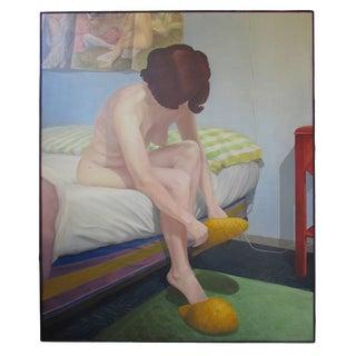 Bedroom Number 5' by Edward L. Higgins Oil on Canvas