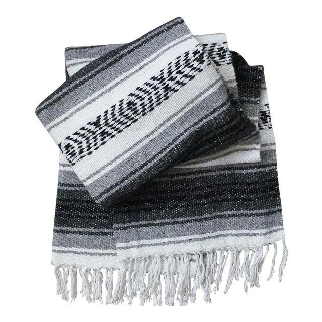 Southwestern Boho Throw Blanket - Image 1 of 5