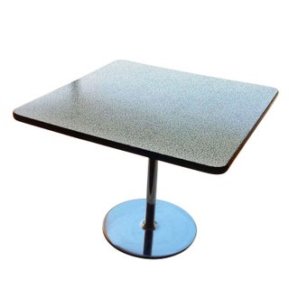 """Memphis Style ICF 42"""" Laminate Cafe Table"""