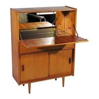 Mid-Century Modern Teak Dry Bar