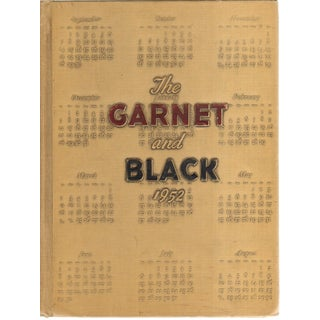 1952 'The Garnet and Black' Hardcover