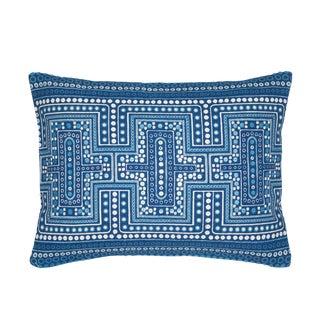 Indigo Dot Down Pillow