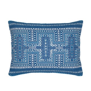 Indigo Dot Down Pillow