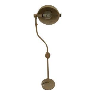 Vintage Hill-Rom Industrial Portable Floor Lamp