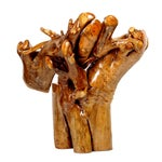 Image of Unusual Root Chair Made from Camphor Wood