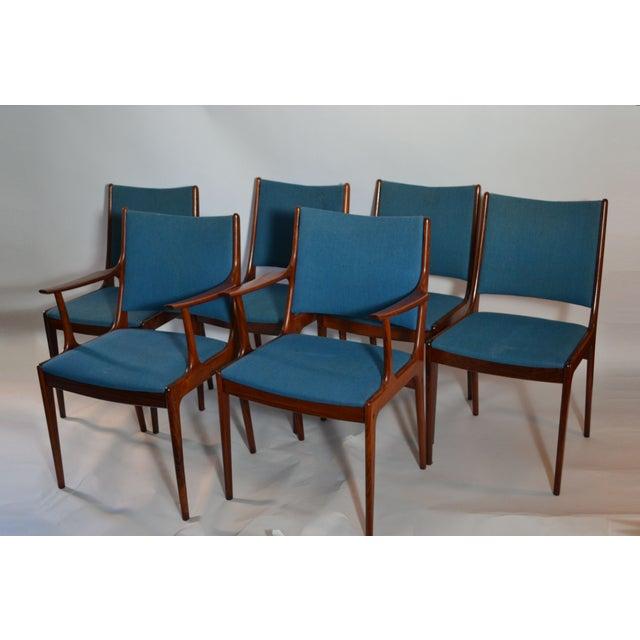 Joannes Andersen Danish Dining Chairs - Set of 6 - Image 2 of 3