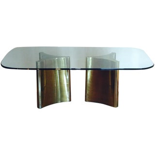 Mastercraft Double Pedestal Dining Table